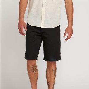 Men's Volcom Shorts - Dark Blue